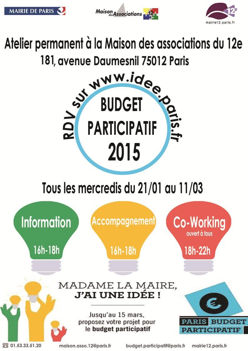 Atelier budget participatif